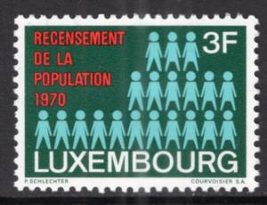 Luxembourg 492 MNH VF