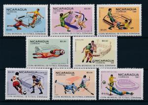 [59362] Nicaragua 1981 World Cup Soccer Football Spain MNH