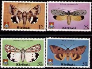 Kiribati MNH 356-9 Moths