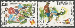 SPAIN 2234-35 MNH WORLD CUP Z7671-4
