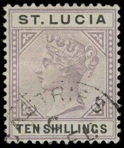 St. Lucia Scott 39 Gibbons 52 Used Stamp