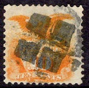 US Stamp Scott #116 Used SCV $110