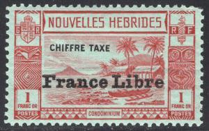 NEW HEBRIDES-FRENCH SCOTT J15