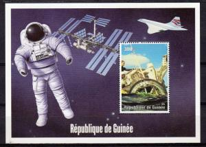 Guinea 2000 YT#1321 Space-Geminis - Concorde SS Perforated MNH