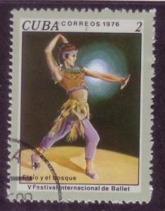 Cuba Sc. # 2095 CTO Dance