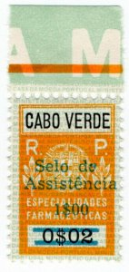 (I.B) Portugal Colonial Revenue : Cape Verde Health Insurance $1