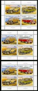 Iceland Stamps # 756-9 VF MNH Scott Value $29.20