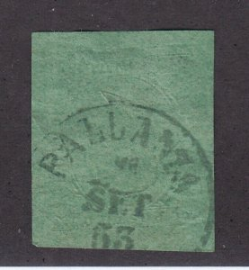 Sardinia Scott # 4 VF-XF used neat cancel with nice color cv $ 1200 ! see pic !