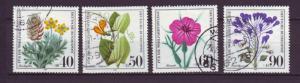 J9225 JL stamps @20% 1980 germany used set4 #b577-80 flowers