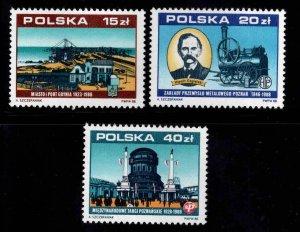 Poland Scott 2881-2883 MNH**  National  Industry stamp set