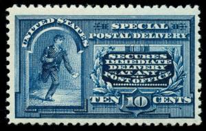 momen: US Stamps #E4 Mint OG NH VF/XF JUMBO PSE Cert