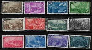Doyle's_Stamps: MNH 1948 Italian Palermo Uprising Stamp Set, #495**--#506**