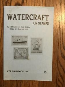 WATERCRAFT on STAMPS by Katherine A Kirk ATA book 117