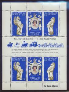 Falkland Islands Stamp Scott #275, Mint Never Hinged, Miniature Sheet - Free ...