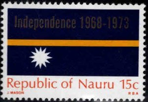 NAURU Scott 90 MNH** Overprinted Flag stamp