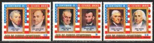 Equatorial Guinea. 1975. 600-15 from the series. US presidents. MNH.