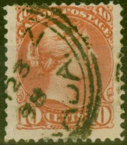 Canada 1894 10c Brownish-Red SG111 Fine Used