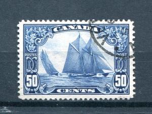 Canada #158  Bluenose  Used  XF  -   Lakeshore Philatelics