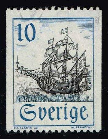 Sweden #738 Merchant Vessel in Oresund; Used at Wholesale