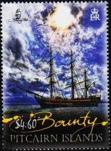 Pitcairn Islands. 2012 $4.60 Fine Used