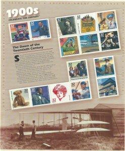 1998 United States Scott Catalog Number 3182 Unused Never Hinged
