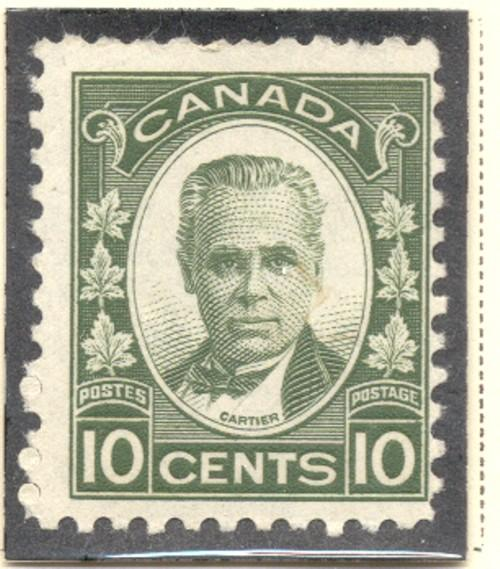 Canada Sc 190 1931 10c Cartier stamp mint