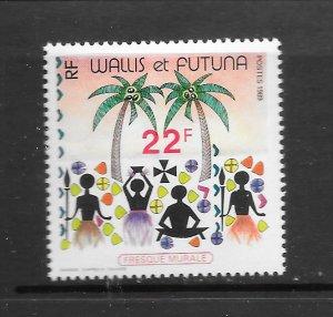 WALLIS & FUTUNA  #382  FRESCO   MNH