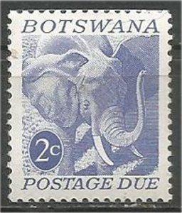 BOTSWANA, 1971 mint 2c Elephant Scott J5