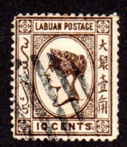 LABUAN 36 USED SCV $9.50 BIN $3.80 ROYALTY