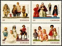 Canada 1277a 1990 People block MNH