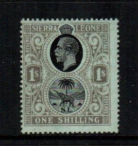 Sierra Leone   115  MNH cat $  20.00 2222
