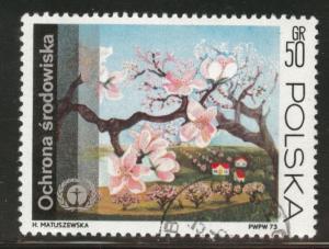 Poland Scott 1987 used 1973 stamp