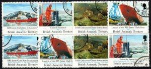 British Antarctic Territory #184-91  F-VF Used CV $28.50 (X770)