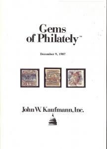 Gems of Philately, Kaufmann Gems 87