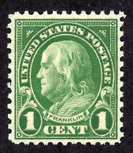 632 Mint,OG,LH... SCV $0.25
