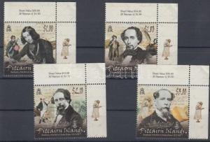 Pitcairn Islands stamp Charles Dickens MNH 2012 WS124290
