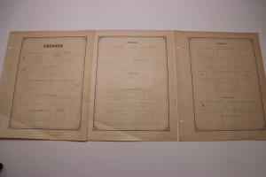 Grenada British colony Grenade early specialist album pages used empty blank