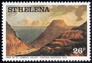 Saint Helena # 307 mnh ~ 26p St. James's Valley