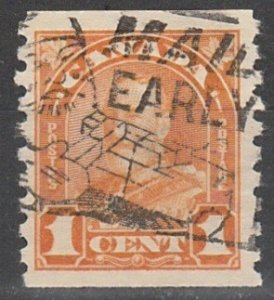 #178 Canada Used George V Coil