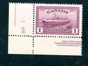 Canada #273  Mint VF NH