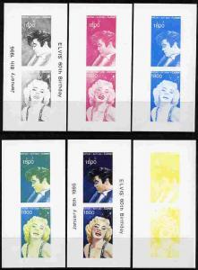 Batum 1995 Film Stars (Elvis & Marilyn Monroe) souven...