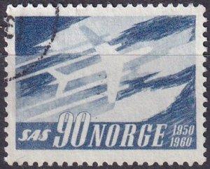 Norway #388  F-VF Used   (SU8296)