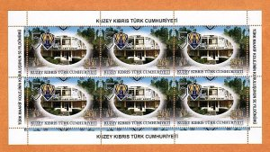 UNMOUNTED MINT SHEETLET 2014 50 TH ANNIVERSARY OF TMK TURKISH CYPRUS