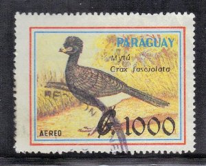 PARAGUAY SC# 2304 USED 1989 1000g  SEE SCAN