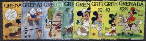 Grenada 950-8 MNH Disney, Sports, Horse, Goofy, Donald Duck, Tennis