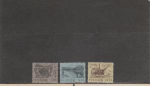 NORWAY 750-752 MNH 2019 SCOTT CATALOGUE VALUE $6.60