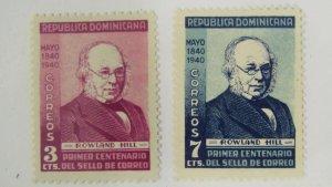Dominican Republic 356-357 MH