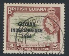 Guyana Independence 1966 SG 386 Used