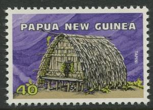 Papua New Guinea- Scott 436 - General Issue -1976 - MNH - Single 40t Stamp