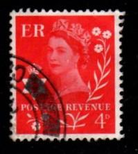 Great Britain - Northern Ireland - #9 Queen Elizabeth  - Used